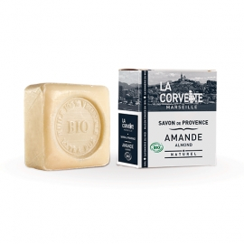 Pastilla de Jabón de Provenza Almendras Dulces LA CORVETTE 100 gr