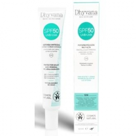 Protector Solar Mineral SPF50 DHYVANA 50 ml