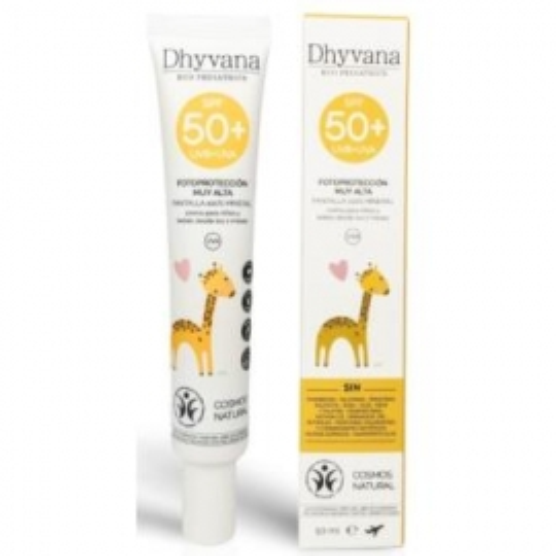 Fotoprotección SPF50+ Infantil DHYVANA 50 ml