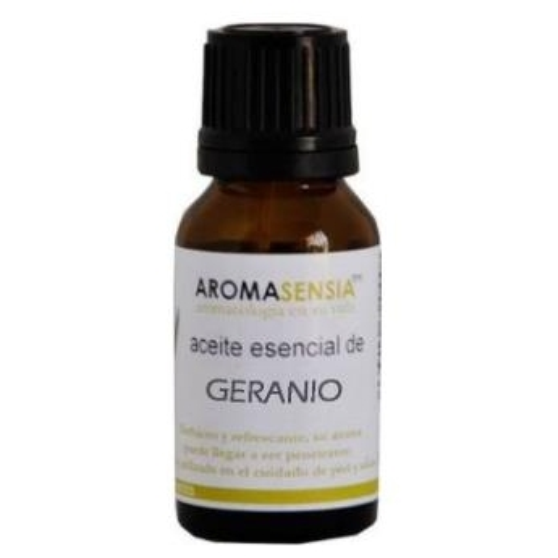 Aceite Esencial de Geranio AROMASENSIA 15 ml