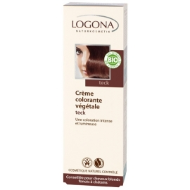 Crema Colorante Castaño Nogal LOGONA 150 ml