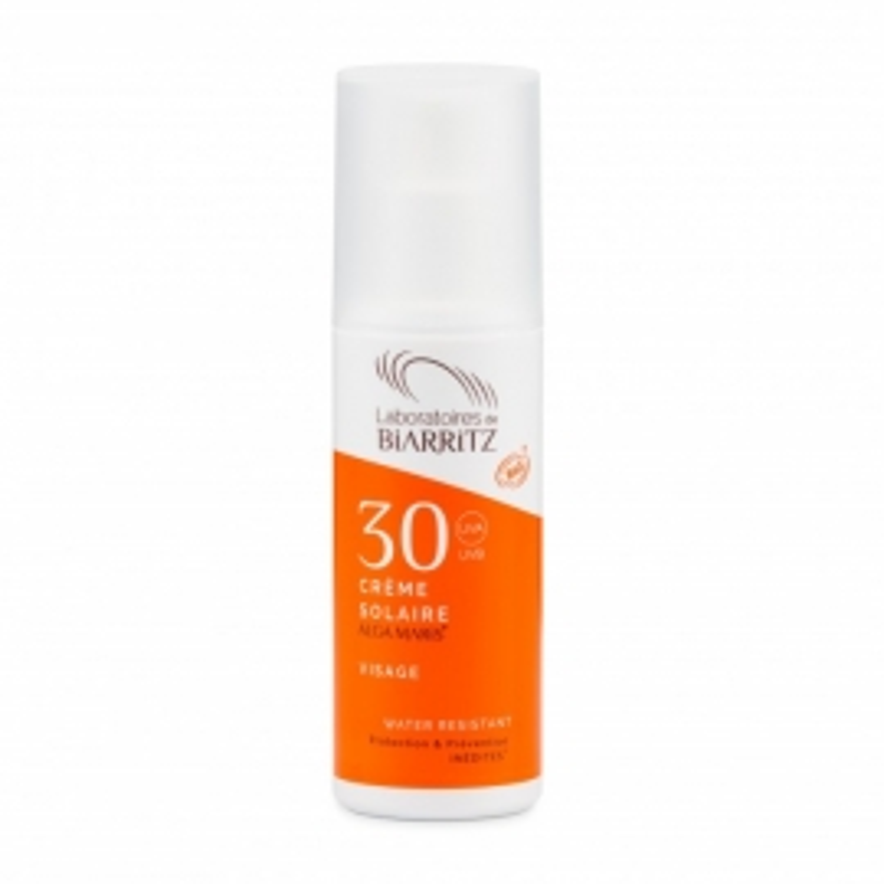 Crema Solar Facial SPF30 ALGA MARIS de BIARRITZ 50 ml