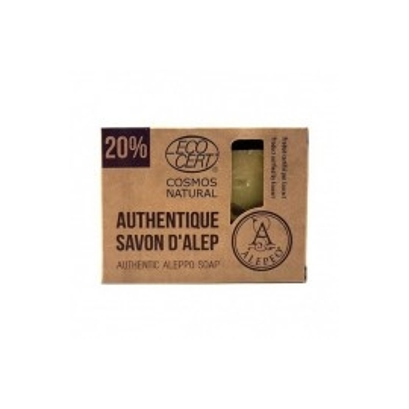 Jabón Natural de Alepo 20% ALEPEO 200 gr