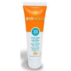 Crema Solar Facial Antiedad SPF 30 BIOSOLIS 50 ml