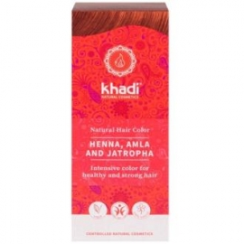 Henna Natural Amla-Jatropha KHADI 100 gr