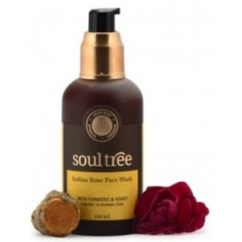 Gel Limpiador Facial de Rosas SOULTREE 120 ml