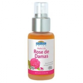 Aceite Vegetal de Rosa Damascena BIOFLORAL 50 ml