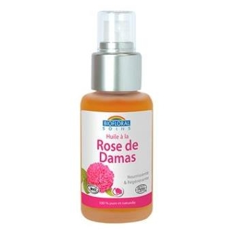 Aceite Vegetal de Rosa Damascena BIOFLORAL 50 ml