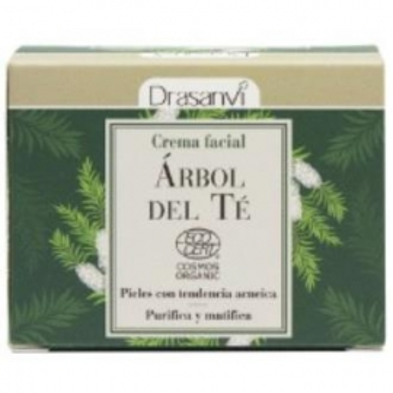 Crema Facial Arbol del Te DRASANVI 50 ml
