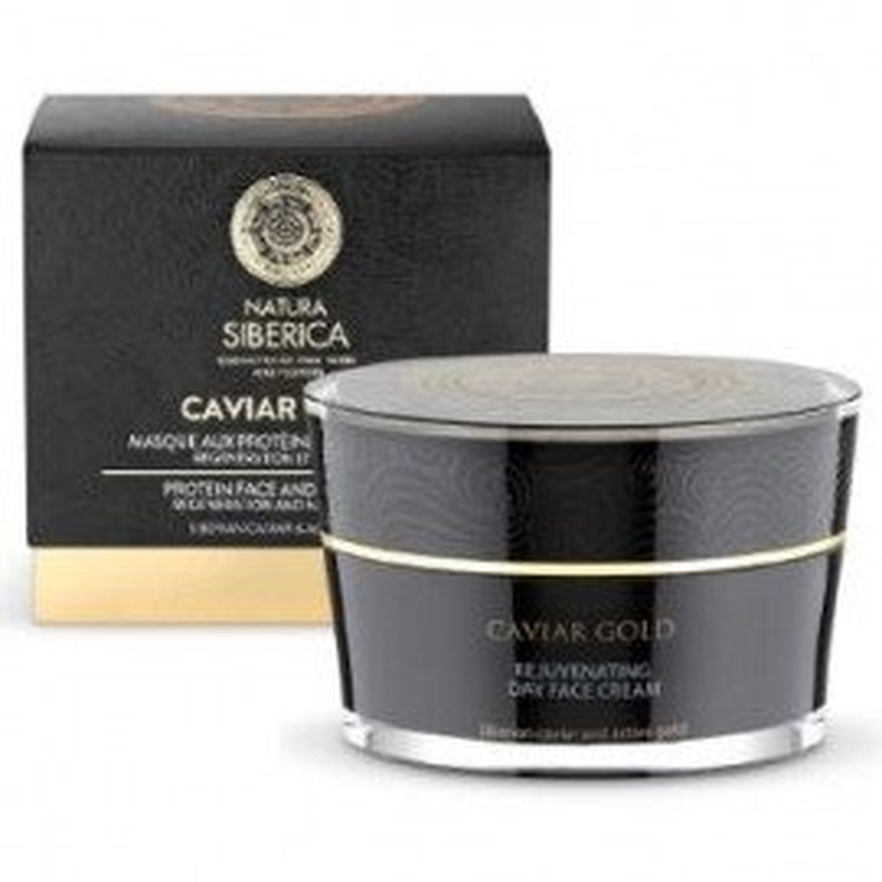 Mascarilla Regeneracion-Nutricion Caviar Gold NATURA SIBERICA 50 ml