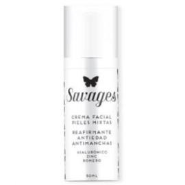 Crema Facial Antiedad Piel Mixta SAVAGES 50 ml