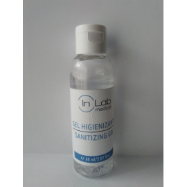 Gel hidroalcohólico desinfectante manos INLAB 60 ml