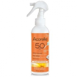 Spray Solar Niños SPF50 ACORELLE 150 ml