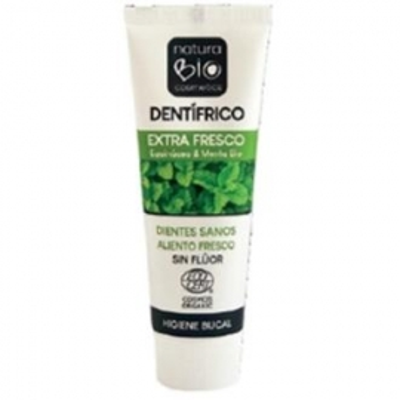 Dentifrico Extra Fresco Echinacea&Menta NATURABIO 75 ml