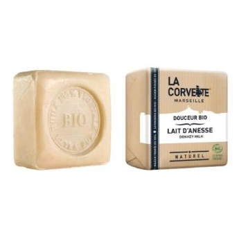 Pastilla de jabón Leche de Burra LA CORVETTE 100 gr