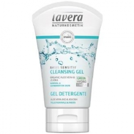 Gel Limpiador Facial Basis Sensitiv LAVERA 125 ml