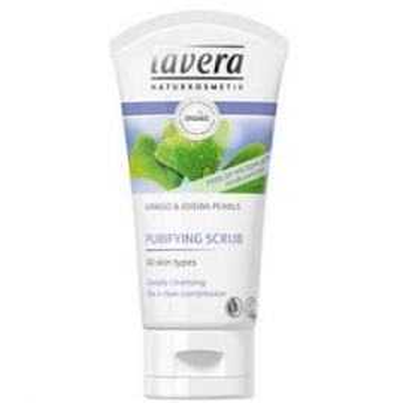 Peeling Purificante Jojoba-Ginkgo LAVERA 50 ml