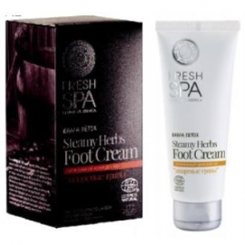 Crema para pies Steamy Herbs Fresh Spa NATURA SIBERICA 75 ml