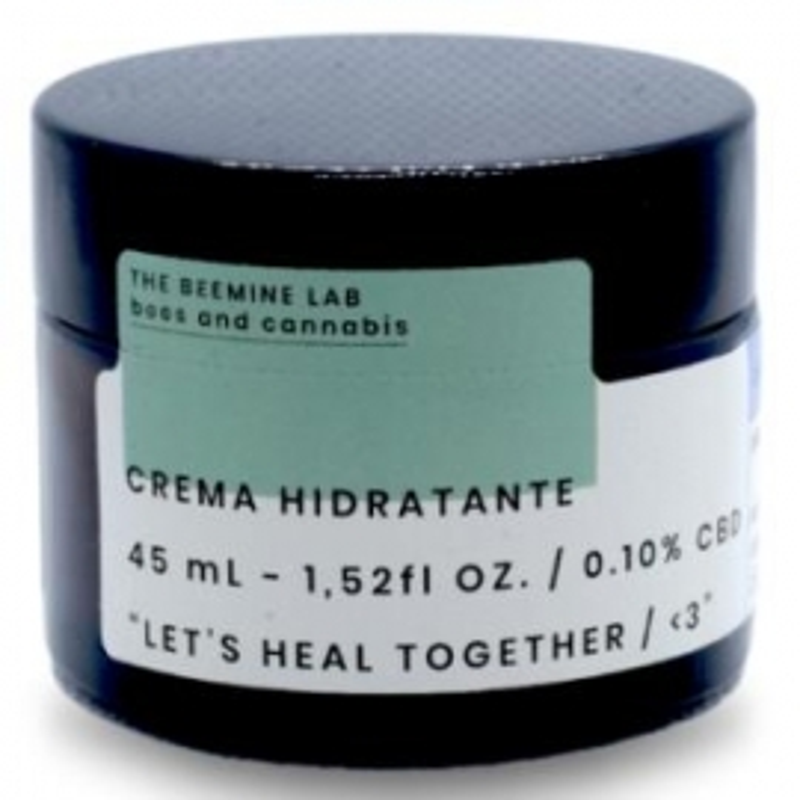 Crema Facial Hidratante CBD y Miel THE BEEMINE LAB 45 ml