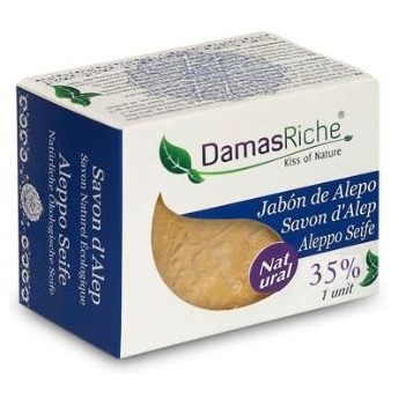 Jabón de Alepo 35% DAMASRICHE 200 gr