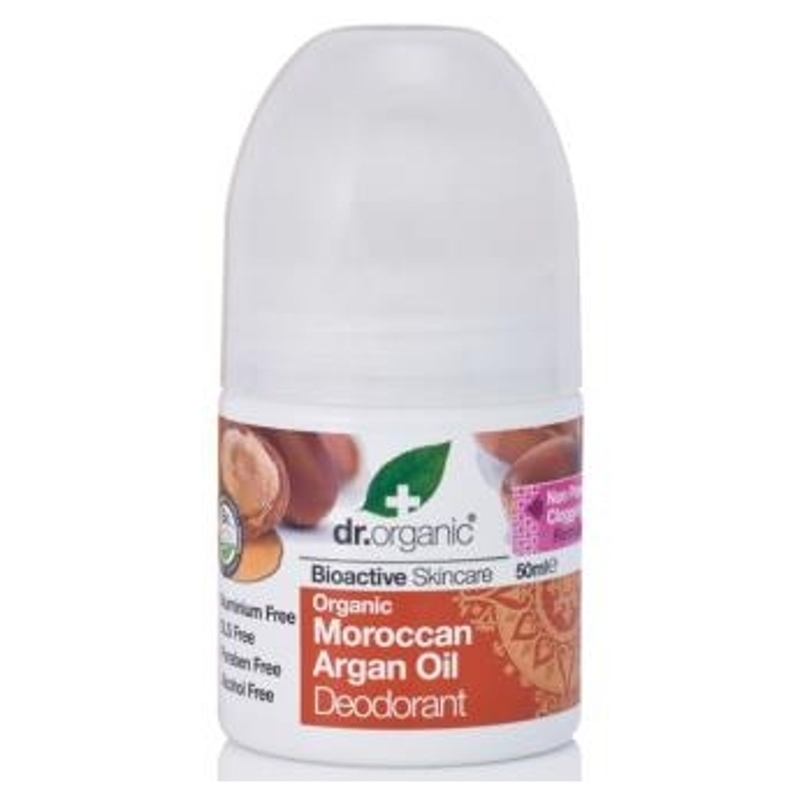 Desodorante Aceite de Argán DR ORGANIC 50 ml