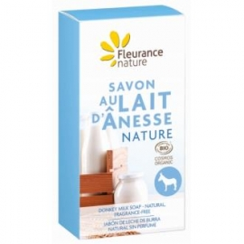 Jabón Leche Burra Natural Sin Perfume FLEURANCE NATURE 100 gr