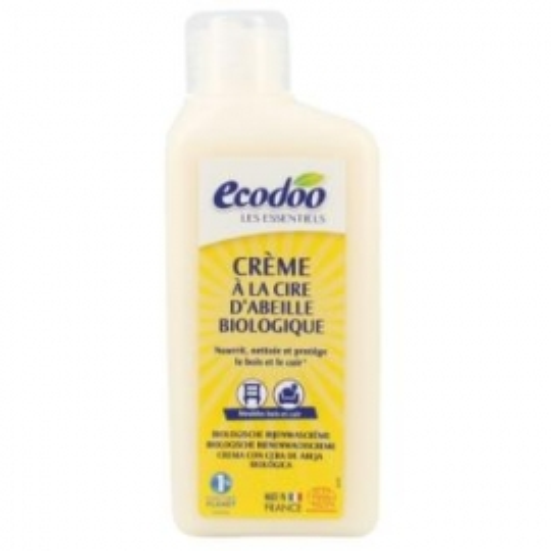 Crema de Cera de Abeja para madera y cuero ECODOO 250 ml