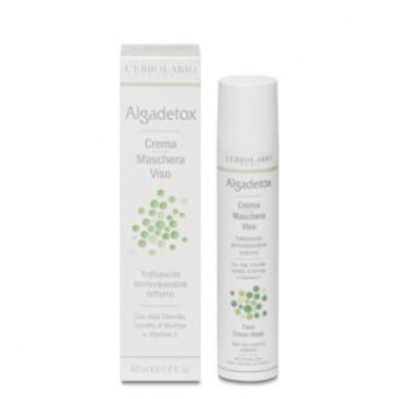 Algadetox Crema-Mascarilla L'ERBOLARIO 50 ml