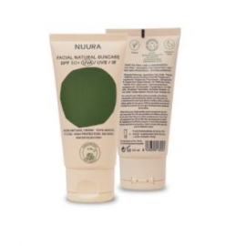 Crema Solar Facial SPF50+ NUURA 50 ml