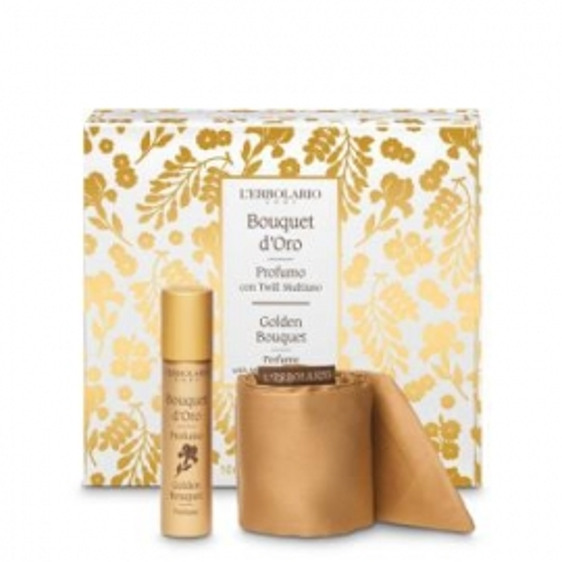 Bouquet de Oro Perfume con twill L'ERBOLARIO 10 ml