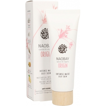 Mascarilla Intensiva Piel Grasa NAOBAY ORIGIN 75 ml